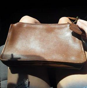 Vintage Coach Leather Crossbody Basic Bag